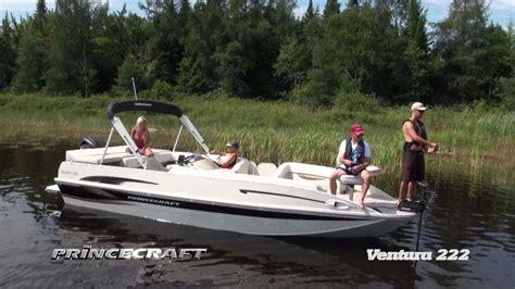 lowe deck boats reviews princecraft ventura 222 2014 bateau pont 233 deck boat
