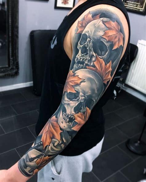 carpenter tattoos badass sleeve by artist joe carpenter