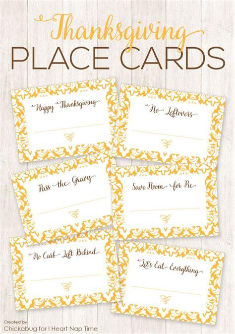 printable thanksgiving seating cards thanksgiving place cards printable place cards nap