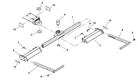 tow truck parts diagram jerr dan standard duty wheel lift pivot pin for greaseless