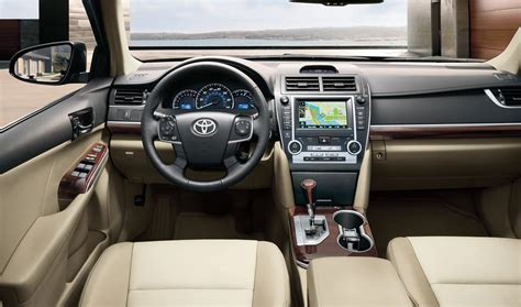 2013 Camry Interior by 2014 Nissan Altima Toyota Camry Vehicle Comparison