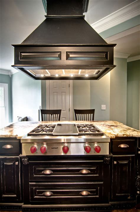 kitchen island vent hood custom drop down wood vent hood kitchen by kirkland