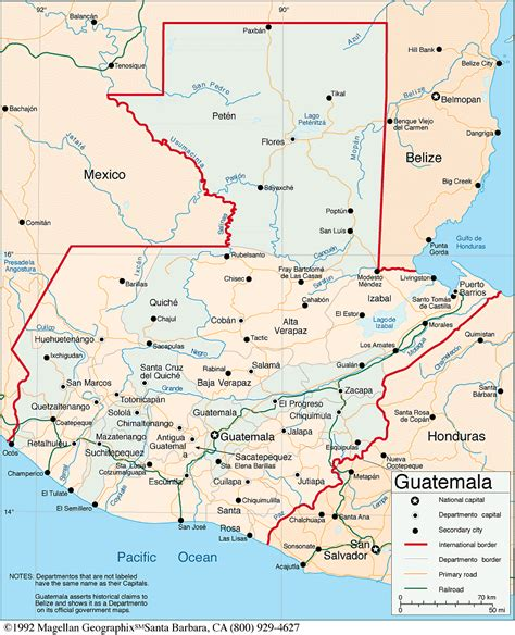 where is guatemala on the map map of guatemala republic of guatemala maps mapsof net
