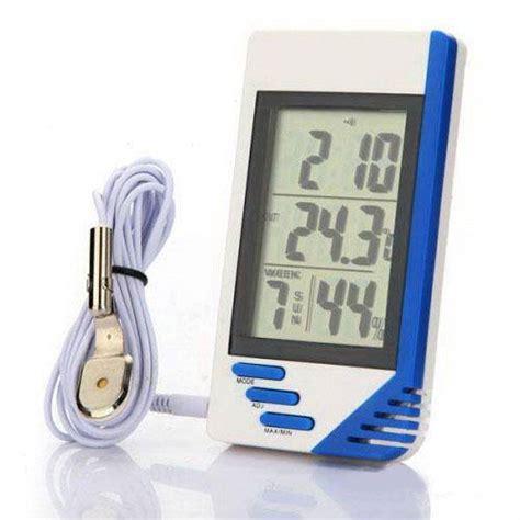 Termometer Cuaca termometer alat pengukur suhu ruangan multifungsi