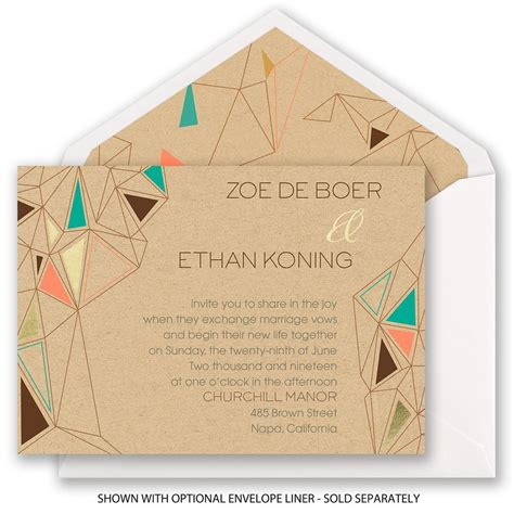 Pretty Wedding Invitations by Pretty Prisms Foil Invitation Invitations By