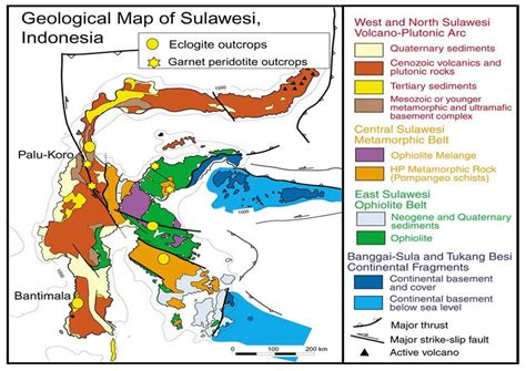 The Geology Of Indonesia Volume 1 Dan 2 Atlas exploration geology of sulawesi island indonesia