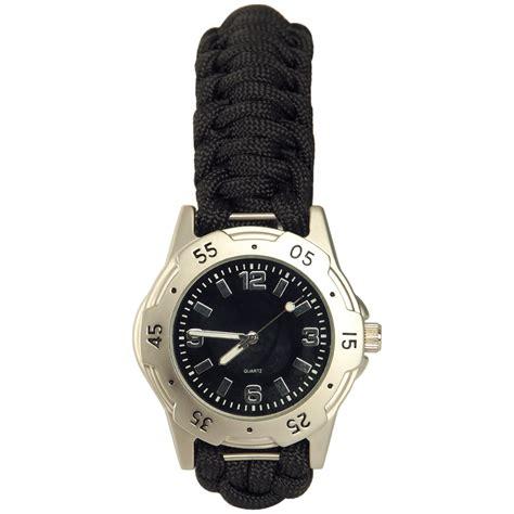 tactical paracord mens bracelet wristband emergency