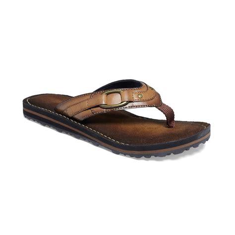 clarks flip flop sandals clarks womens flip abby flip flops in brown honey lyst