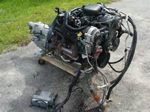 v6 4 3 vortec chevy s10 engine transmission blazer truck