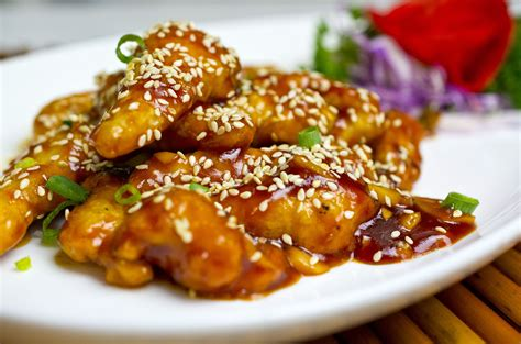 sesame chicken recipes dishmaps