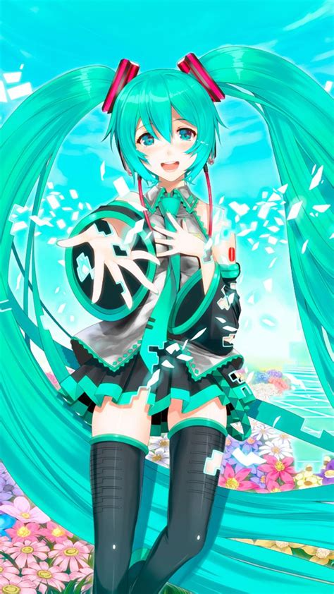 android themes hatsune miku hatsune miku anime wallpaper for iphone and android