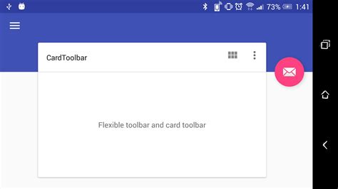 layout landscape in android material design の flexible toolbar and card toolbar qiita