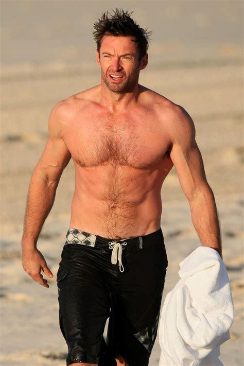 imagenes de wolverine sin camisa hugh jackman photos photos hugh jackman on the beach