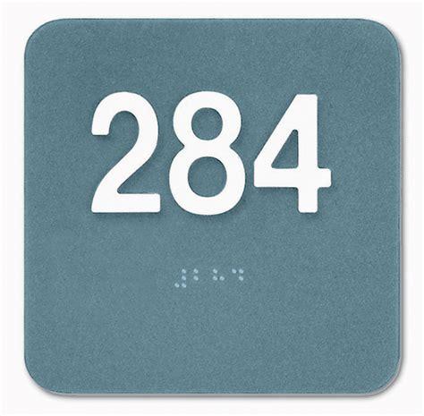 room number room number signs room mph02rn44 medline