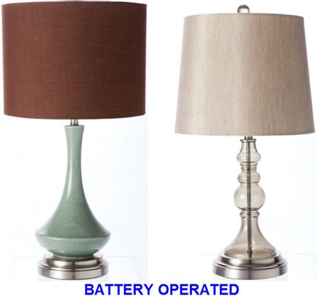 battery operated living room lamps