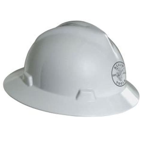 v gard hat white with klein lineman logo 60031