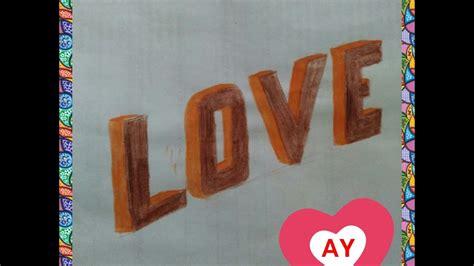 membuat gambar  love markasd