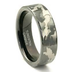 mens camo wedding rings rings for black tungsten rings for camo black