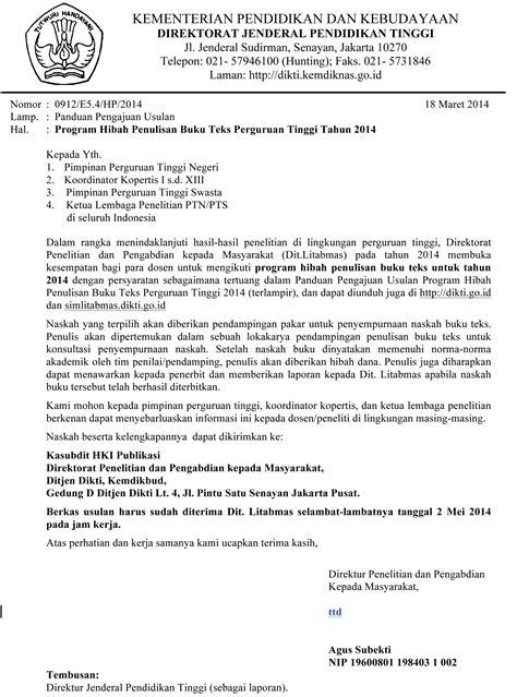 program hibah penulisan buku teks 2014 universitas