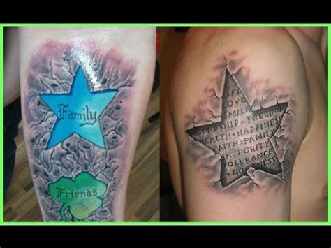 tattoo 3d estrellas los mejores tatuajes de estrellas en 3d youtube