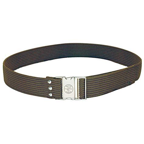 Adjustable Tool Bag Belt Waist Web Working With Release Bu klein tools poly web tool belt fully adjustable 2 1 4 x 32 48 waist