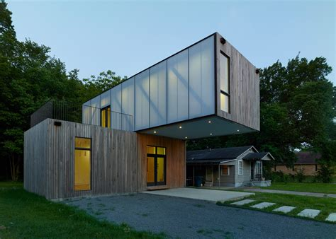 cantilever house architecture students create prefab cantilever house in