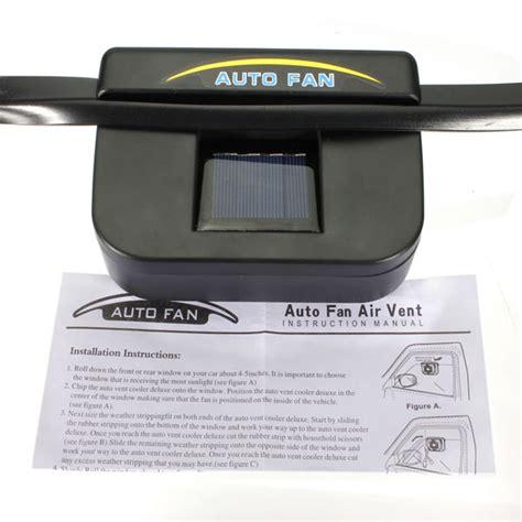 Solar Powered Car Air Ventilation System Sistem Venti Murah solar sun power car auto air vent cool fan cooler ventilation system radiator us 9 99