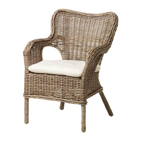 wicker armchair byholma marieberg chair ikea