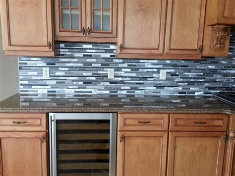 sle backsplashes for kitchens mosaic tile backsplash sle brown glass linear mosaic tile