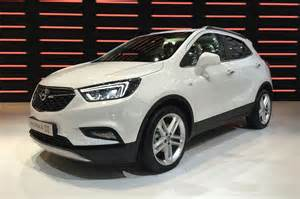 Vauxhall In Vauxhall Mokka X Revealed A Facelift And A Name Change