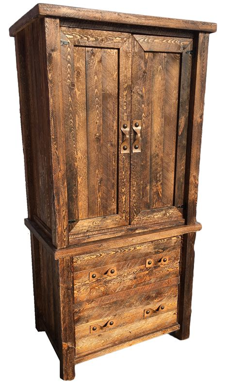 armoire rustic bradley s furniture etc rustic armoires