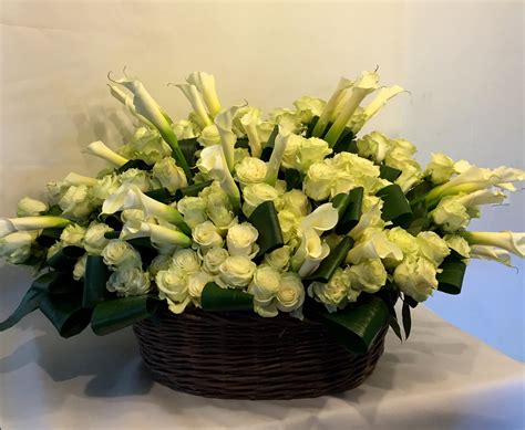 Funeral Baskets by Funeral Floral Arrangements And Baskets