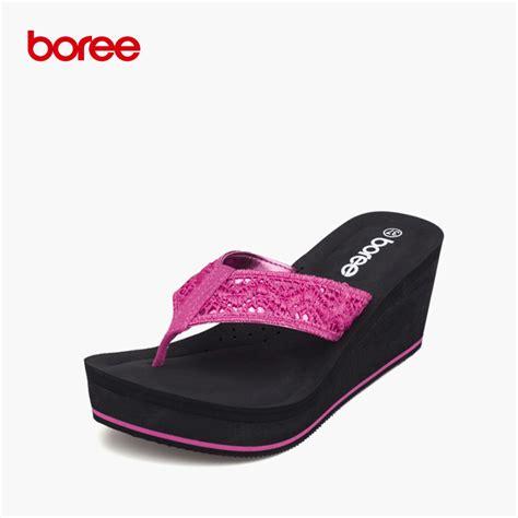 cloth sandals boree summer s sandals fashion flip flops casual