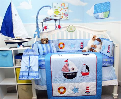 soho crib bedding set soho ship ahoy crib bedding collection baby bedding and