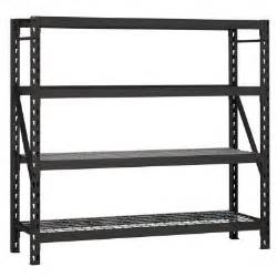 shelving at home depot husky 77 in w x 78 in h x 24 in d steel garage shelving