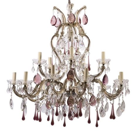 Coloured Glass Chandelier Homeofficedecoration Colored Glass Chandeliers