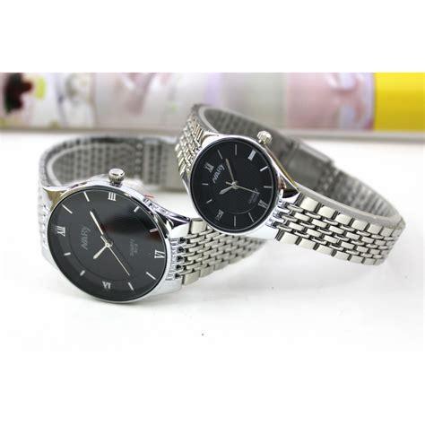 Aag304 Nary Jam Tangan Analog Stainless Steel 6019 nary jam tangan analog pria stainless steel 6019