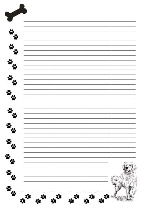 black writing paper printable stationery black and white www imgkid