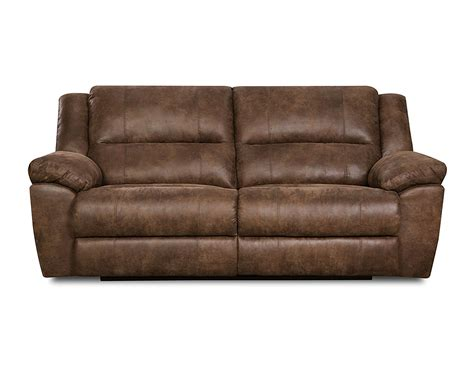 mocha sofa simmons upholstery phoenix mocha double motion sofa home