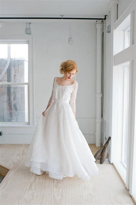 Handmade Wedding Gown - rowan wedding dress handmade bridal dress gorgeous gown