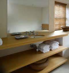 william garvey bespoke vanity shelving oakfinish low res modern bathroom furniture contemporary