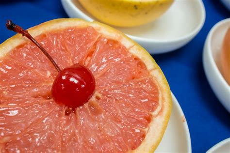 Grapefruit Liver Detox by Grapefruit And Cherry Free Stock Photo Domain