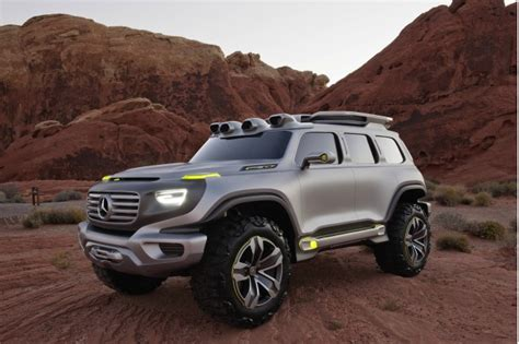 Rugged Suv With Good Gas Mileage Mercedes To Debut Ener G Force Off Road Concept In L A