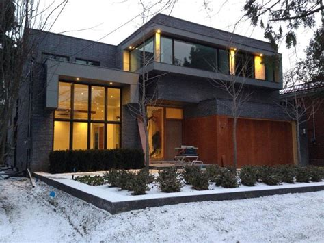 this is a new custom built modern architecture home in toronto