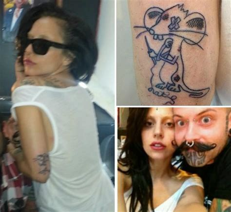 lady gaga new tattoo an exclusive list of gaga tattoos
