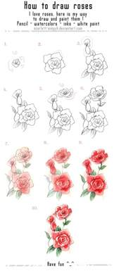 doodle flowers how to how to draw a flower step by step image guides