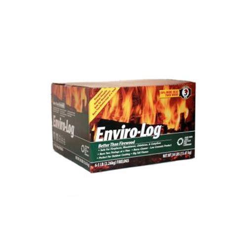 enviro log 5 lb earth friendly firelogs 6 pack 1000562