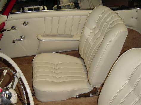 Lederpflege Beige Autositze by Mercedes 190 Sl Mit Lederinterieur