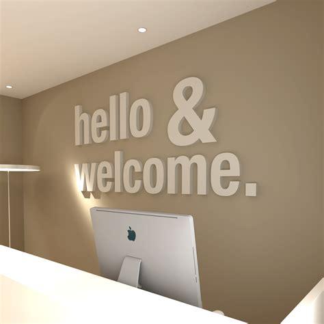 hello home hello welcome office design 3d moonwallstickers