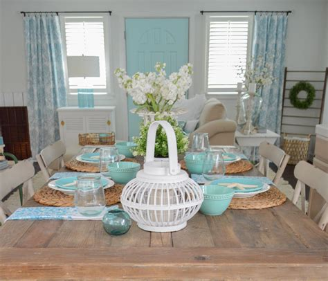 decor ideas summer farm table decorating ideas